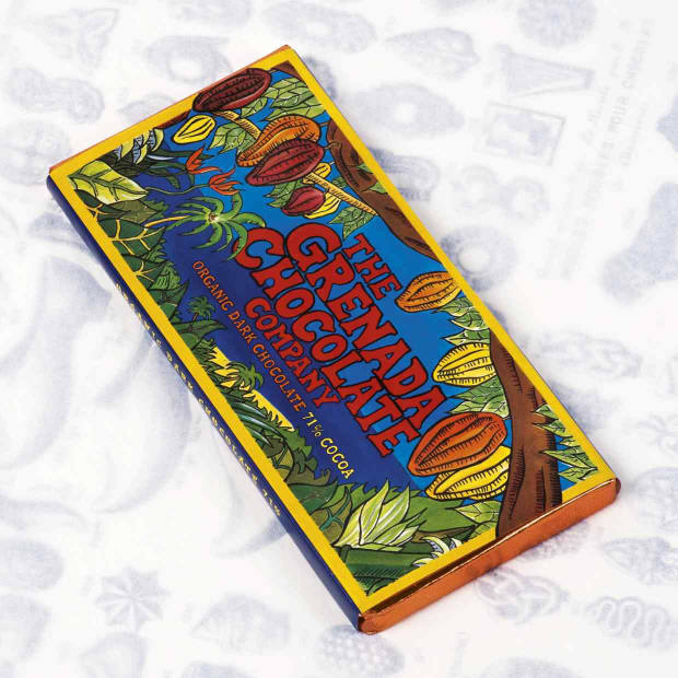 Organic chocolate from The Grenada Chocolate Company, as chosen by Gordon Campbell-Gray