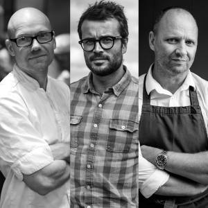Magnus Ek of Stockholm's two-Michelin-starred Oaxen Krog is one of the guest chefs at Simon Rogan's London outpost