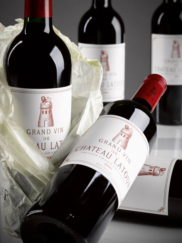 First-growth Château Latour 2000 also features