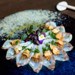 Tai Dry Miso will be among the dishes for the seven-course Omakase Tasting Menu dinner, £190