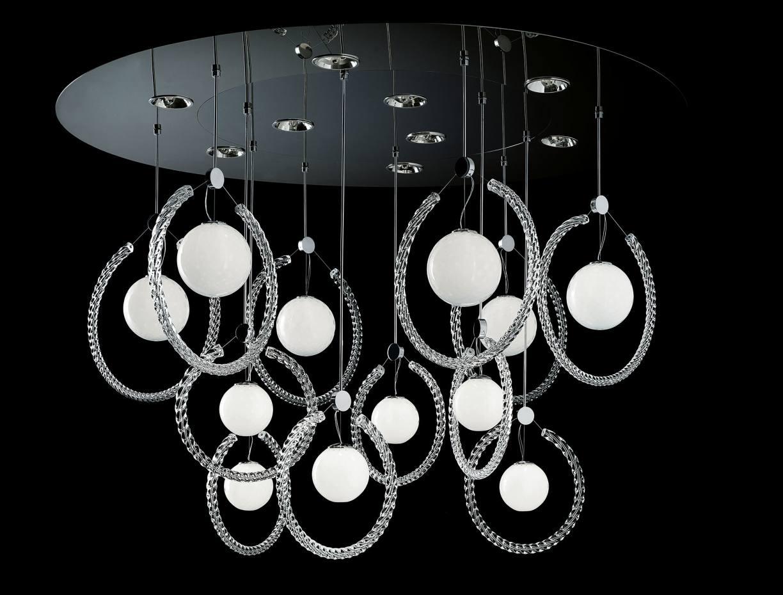 Barovier & Toso Murano glass and chrome Chechi light, €14,880