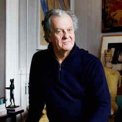 Jacques Grange at home in Paris