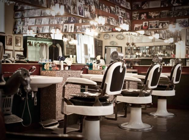 Antica Barbieria Colla barbers in Milan