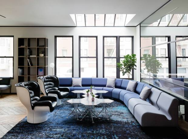 San Francisco's Canopy is furnished with classics from the midcentury onwards