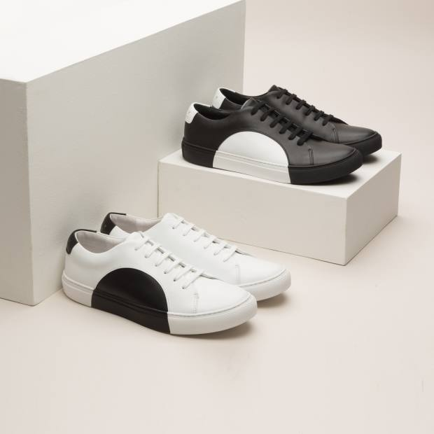 THEY nappa leather Circle Low sneakers, $359 each