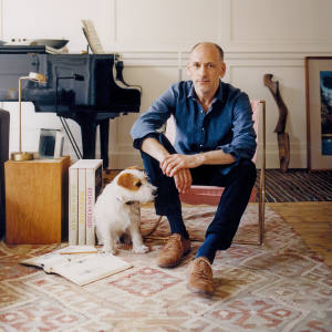 William Smalley at home in London
