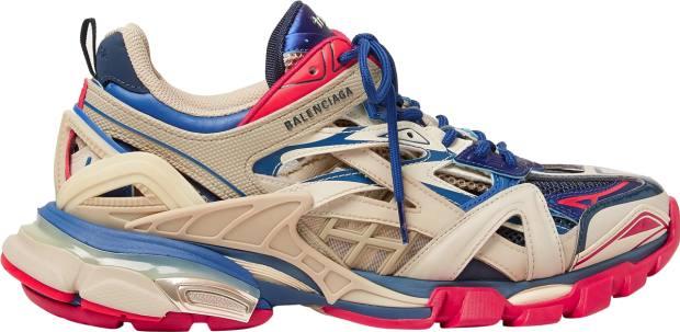 Balenciaga Track.2 sneakers, £595, from mrporter.com