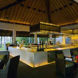 The Beach Restaurant at The Nam Hai hotel in Vietnam.