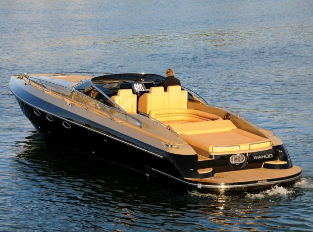 Hunton's 13m flagship XRS43 is about to launch at the London Boat Show.