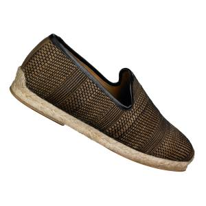 Christian Louboutin Relax espadrilles in woven calfskin, £385. Also in suede/other colours