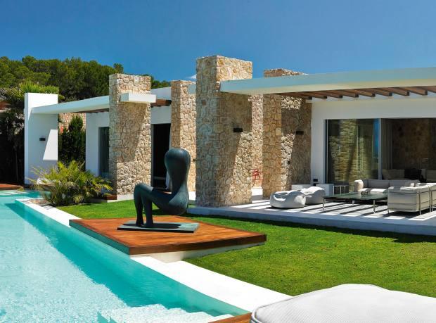 A Cala Conta villa in San José, Ibiza, from €2.5m through Knight Frank