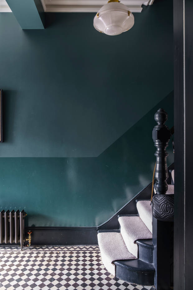 Inchyra Blue: made by Farrow & Ball colour-curator Joa-Studholme for a Scottish Regency mansion