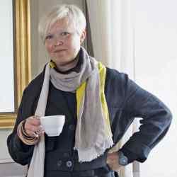Minna Kemell-Kutvonen at Café Engel