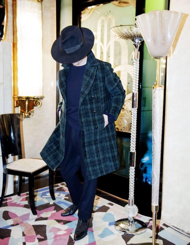 MP Massimo Piombo mohair/wool coat, €1,850
