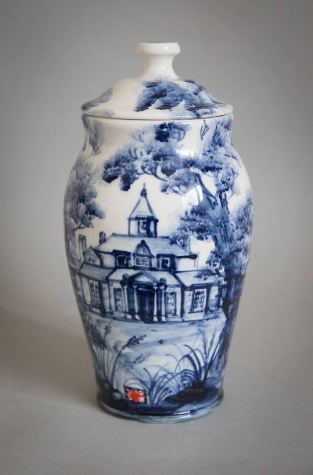 """""""Asylum Jar"""" in porcelain by Qest scholar Mia Sarosi, from £200"""