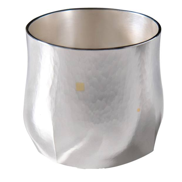 Theresa Nguyen silver and gold Square to Circle beaker, from £1,100