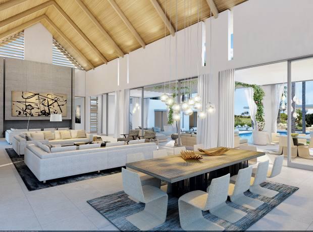Golf Villa at Mont Choisy in Mauritius' Grand-Baie, from $1.2m through Savills