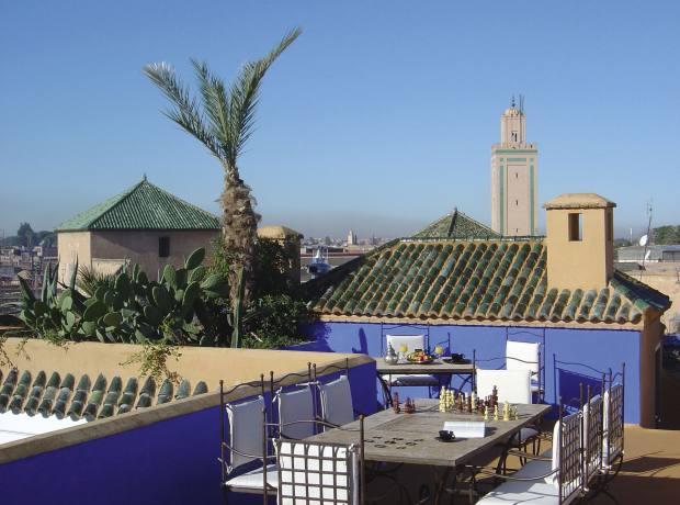 Riad Farnatchi in Marrakech.