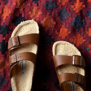 Birkenstock sandals, £115: natural materials from sustainable sources