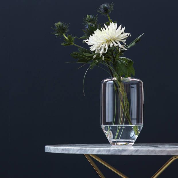Orthodox glass vase (15cm x 28cm), €141