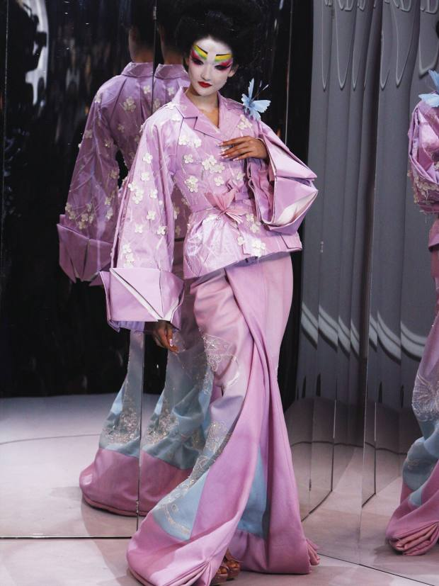 Christian Dior's haute couture spring/summer 2007 will feature in Kimono: Kyoto to Catwalk in London