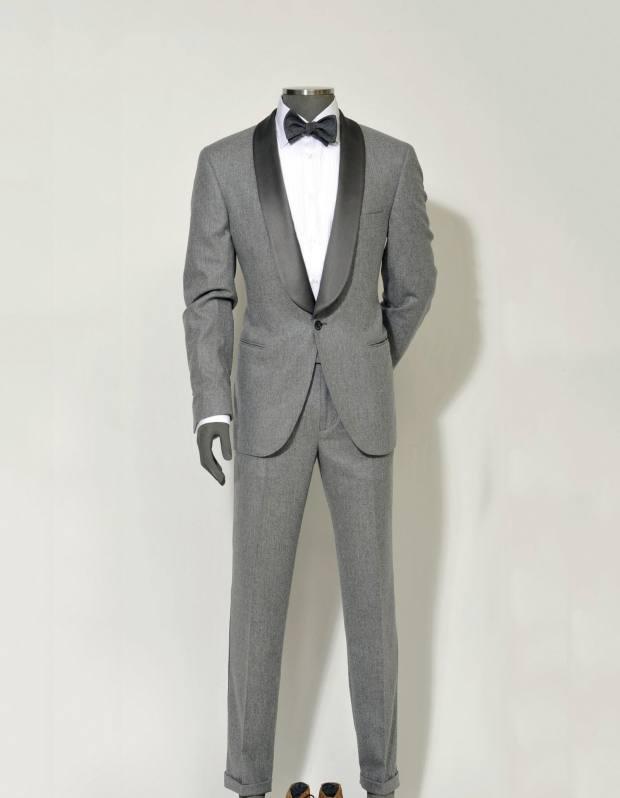 Brunello Cucinelli cashmere tuxedo, £3,317.