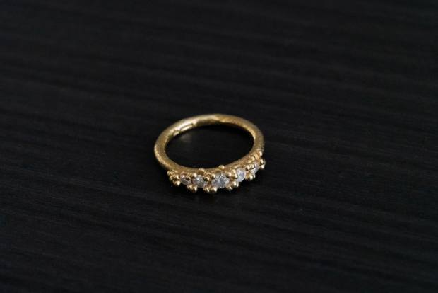 Berry's goldand diamond ring by Ruth Tomlinson