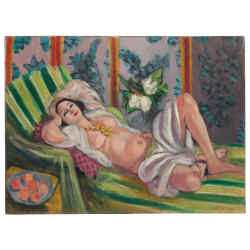 A 1923 reclining nude by Matisse ($50m)