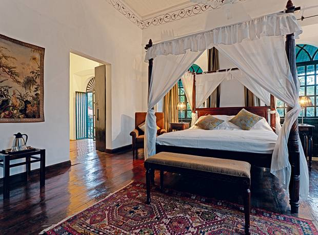 The Macassar superior suite at Siolim House