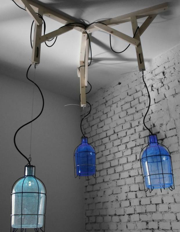 Trap lights by Gionata Gatto and Mike Thompson, €900.