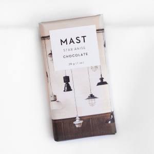 Mast Brothers star anise chocolate bar, £3.50