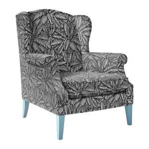 Bondi upholstered wing armchair, £895