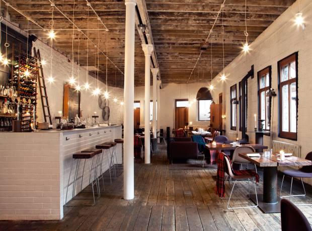 Timberyard restaurant, Edinburgh