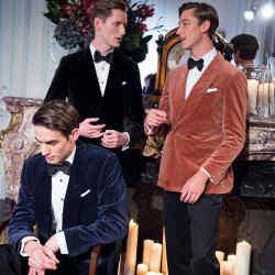 Dunhill Japanese cotton-velvet dinner jackets, £1,490