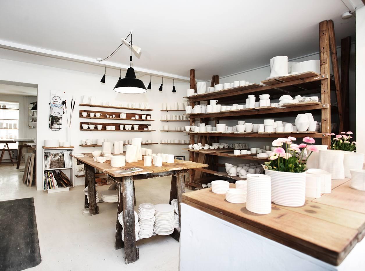 The Vincents ceramics emporium in Copenhagen