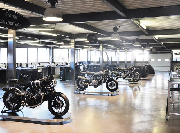 The new Brough Superior factory in France