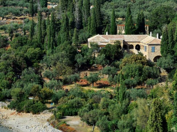 The Kalamitsi home of the late Patrick and Joan Leigh Fermor will be available to rent from next summer