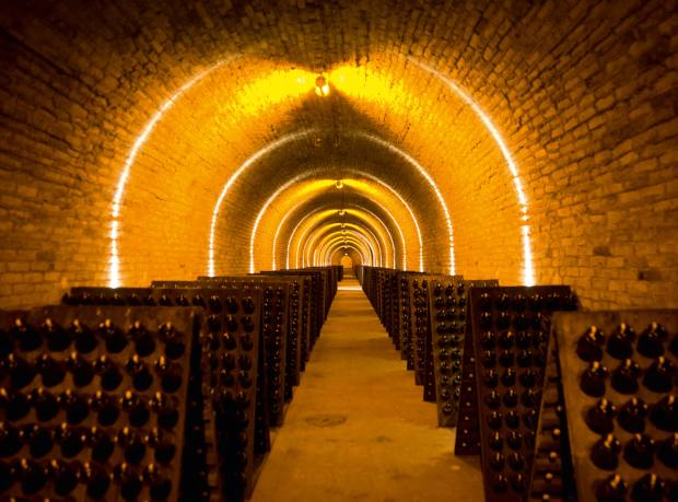 The House of Krug cellars