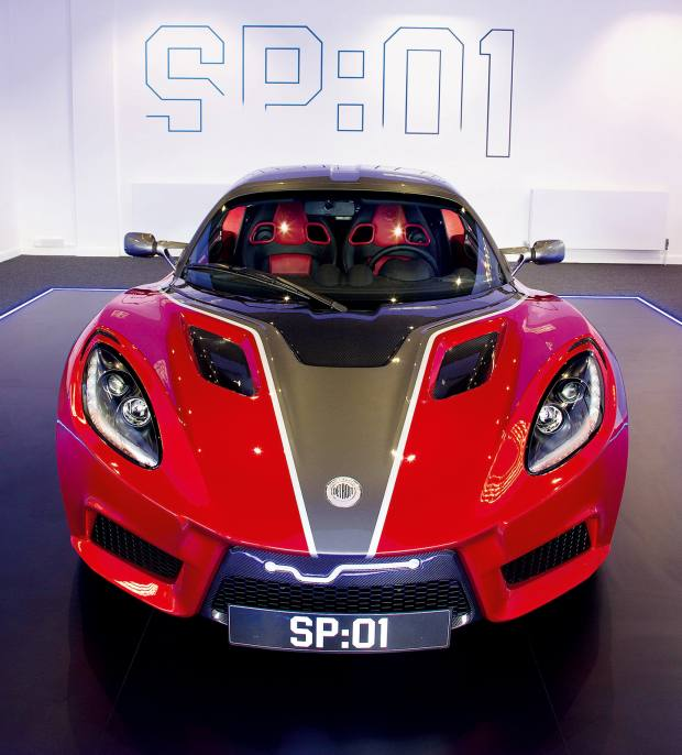 Detroit Electric's SP:01 is made to order, from £120,000, and reaches a top speed of 155mph