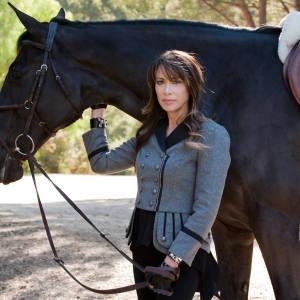 Gela Nash-Taylor at the Santana Equestrian Group.