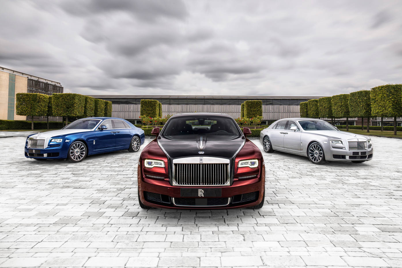 Only 50 limited edition Ghost Zenith Collection cars will roll off the production line