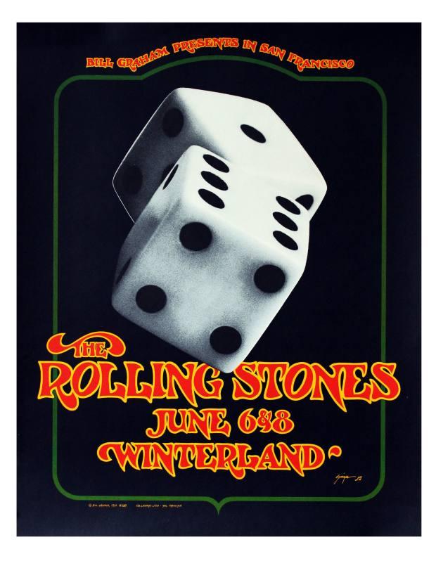 Vintage Winterland poster, 1972, $1,450