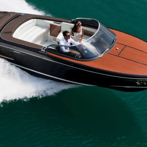 Riva's 8m Iseo, €342,000