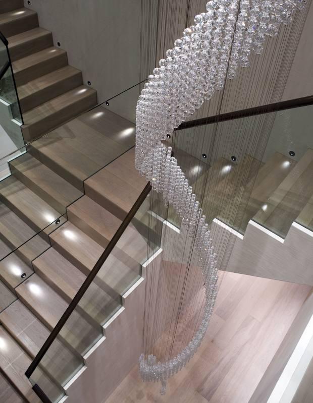 An Eva Menz design in Swarovski crystal, £41,400, for Taylor Howes.
