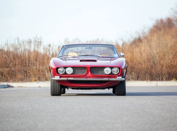 The last-built 1974 Iso Grifo 7-litre, sold for about £280,000 at Sotheby's