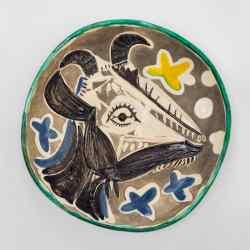 Goat's Head in Profile (Tête de Chèvre de Profil), 1952