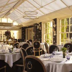 Vetiver restaurant at Chewton Glen Hotel & Spa