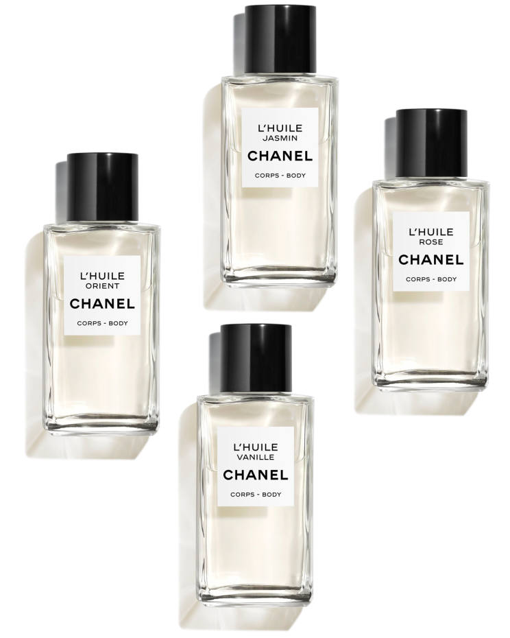 Chanel L'Huile au Ritz body oils, £172 for 250ml