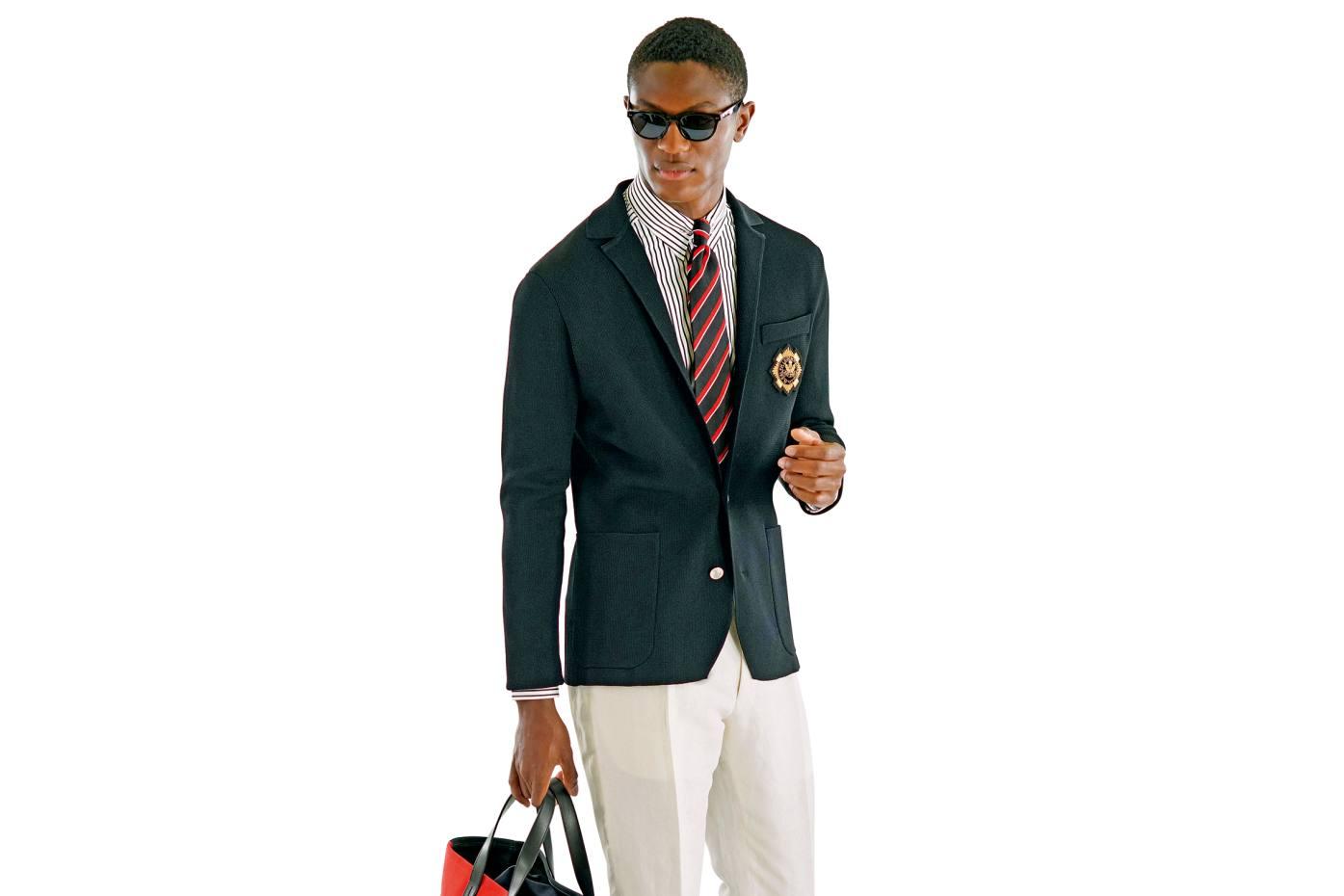 "Ralph Lauren ""sweater"" blazer, £1,520"