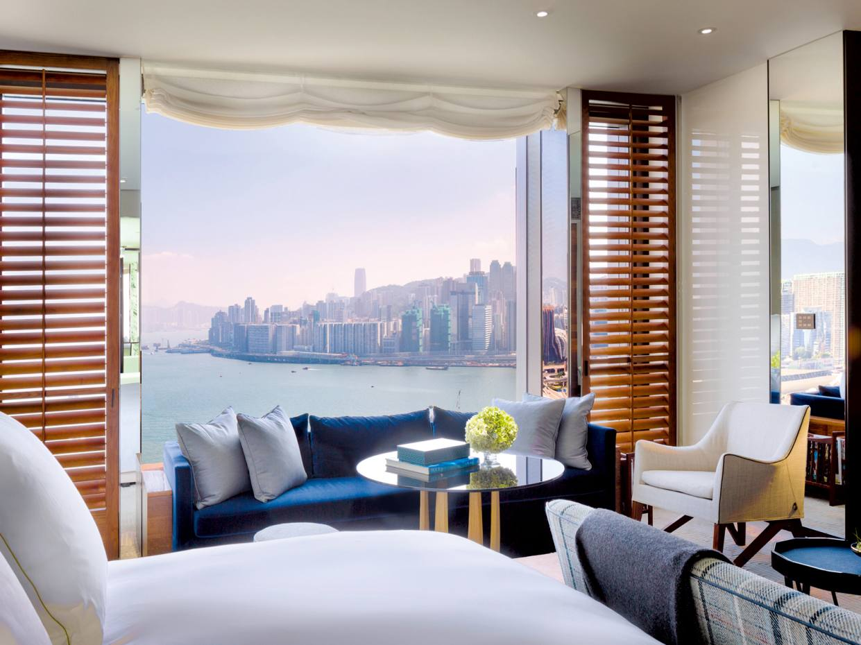 Rosewood's new Hong Kong outpost has views over Victoria Harbour